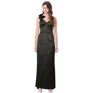 Mikael Aghal One Shoulder Satin Ruffle Evening Gown Dress - 8|https://ak1.ostkcdn.com/images/products/is/images/direct/a2e8ff287b25438428752a4fe6fb9be01895c0ae/Mikael-Aghal-One-Shoulder-Satin-Ruffle-Evening-Gown-Dress.jpg?impolicy=medium