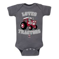 Loves Tractors  - Case Ih Infant One Piece
