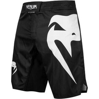 Venum Light 3.0 MMA Fight Shorts - Black/White