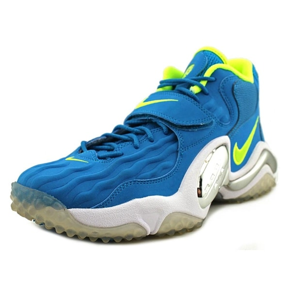 Nike Air Zoom Turf Jet '97 Round Toe Leather Basketball Shoe