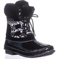 Khombu Mayana Cold Weather Boots, Black