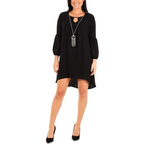 NY Collection Womens Petites Party Dress High-Low Day to Night