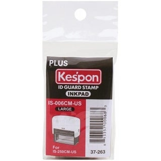 Plus Stationary Corp 37263INK Kes pon ID Guard Stamp Ink Refill