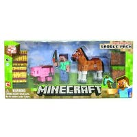 "Minecraft 3"" Action Figure Set: Saddle Pack - multi"