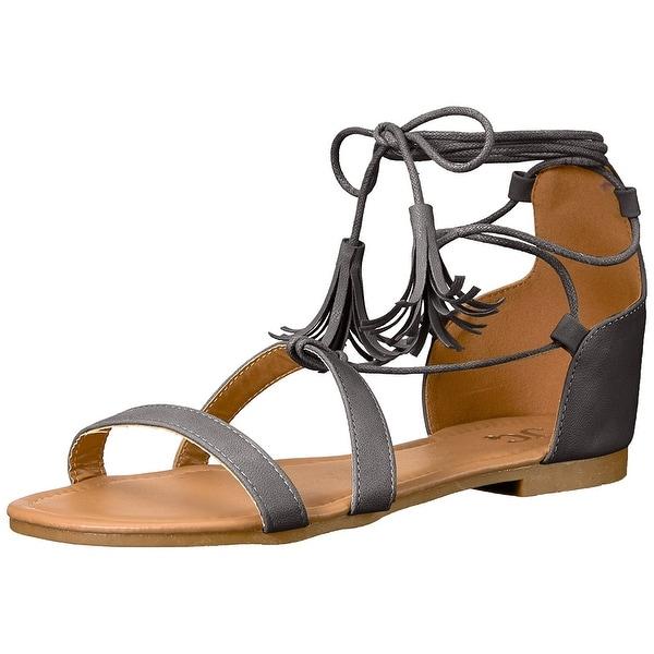 Brinley Co Women's Aviss Flat Sandal