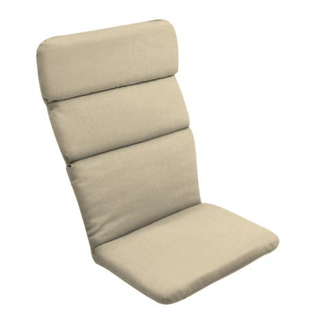 Arden Selections New Tan Leala Texture Adirondack Cushion - 45.5 in L x 20 in W x 2.25 in H