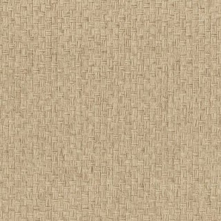 Brewster 63-54782 Hui Ying Taupe Grasscloth Wallpaper