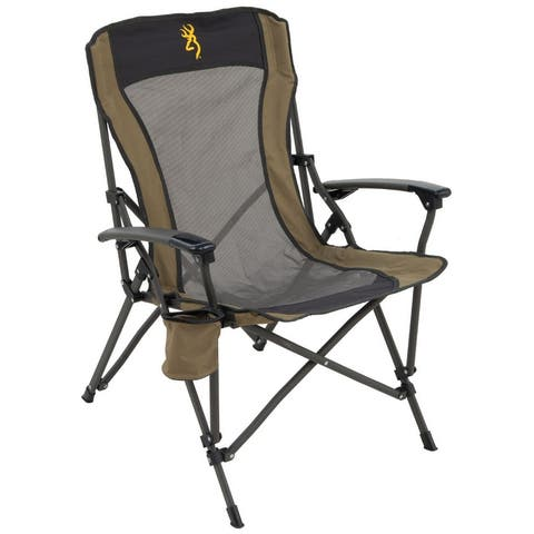 Browning Fireside Chair - Gold Buckmark