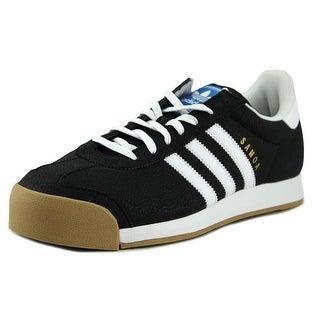 Adidas Samoa Round Toe Leather Sneakers