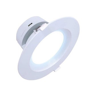 """6"""" Inch J-Box Canless LED Downlight 9W=(65/75W Equivalent) 40,000 Life Hours; Dimmable; Available Colors 27K,30K,40K,50K"""