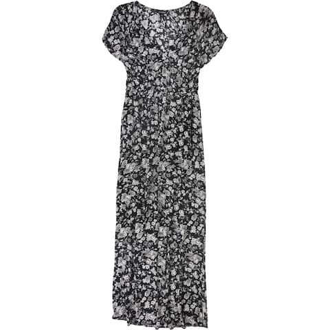 Lucky Brand Womens Floral A-Line Dress