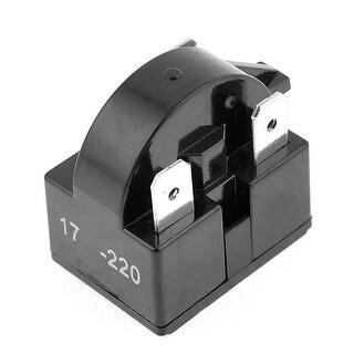 Unique Bargains Black Plastic Housing 17R 3 Pins PTC Starter Relay for Refrigerator