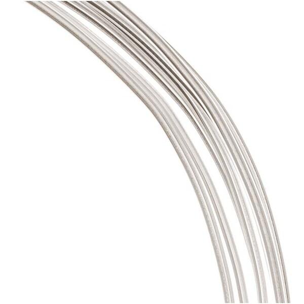 1 Oz. (7.5 Ft.) 99.9-percent Fine Silver Wire 16 Gauge Round Dead Soft