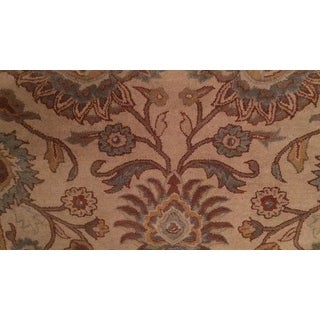 Patchway Hand-Tufted Paisley Wool Rug (4' x 6')