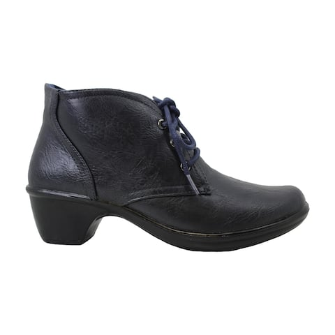 Easy Street Womens Debbie Round Toe Ankle Fashion Boots