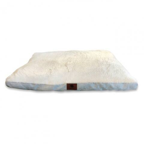 "American Kennel Club AKC9370 Herringbone Gusset Pet Bed, 27"" x 36"""
