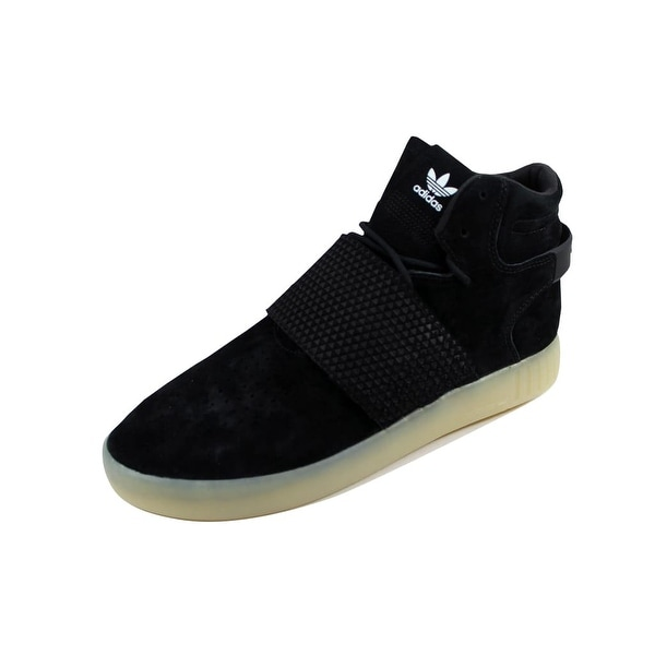 Adidas Men's Tubular Invader Strap Black/Black-White BB5037