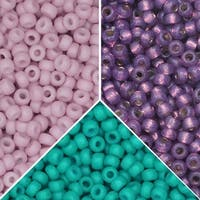 Exclusive Beadaholique Designer Palette, Miyuki Seed Bead Mix, Round 11/0, 69.5 Grams, Martinique