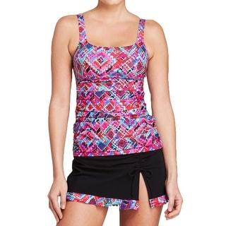 Gottex Womens Tankini Printed Tankini Swimsuit
