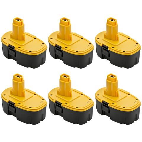 Dewalt 1500mAh Dc9096 18V Battery - Replacement (6 Pack)