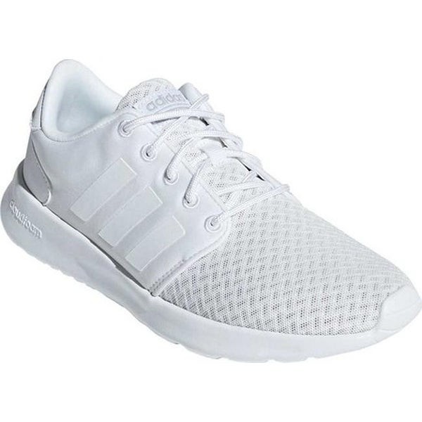 best service 22b71 73810 adidas Women  x27 s Cloudfoam QT Racer Geometric Sneaker FTWR White FTWR  White