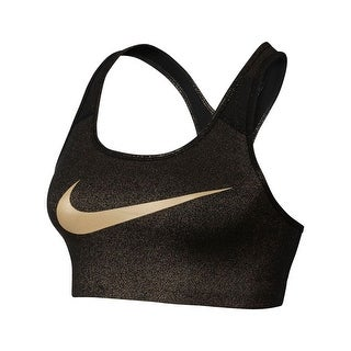Nike Womens Sports Bra Metallic Fitness