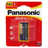 2-pc. AAA Alkaline Batteries