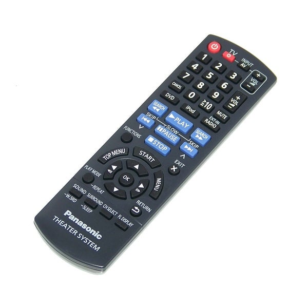 OEM Panasonic Remote Control Originally Shipped With: SAXH170, SA-XH170, SAXH170P, SA-XH170P, SCXH170, SC-XH170