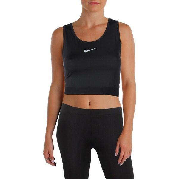 3880422fbc Shop Nike Womens Sports Bra Hypercool Cropped - Ships To Canada ...
