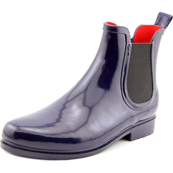 Electric Karma Jet Stream Women Round Toe Synthetic Blue Rain Boot