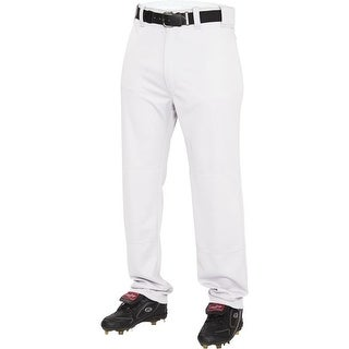 Rawlings Youth Semi-Relaxed Cloth Baseball Pants