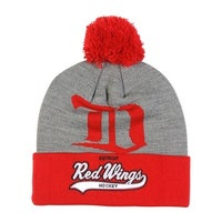 7b40b78cbfa Mitchell   Ness New Detroit Red Wings Tailsweep Cuffed Beanie (100% Acrylic)