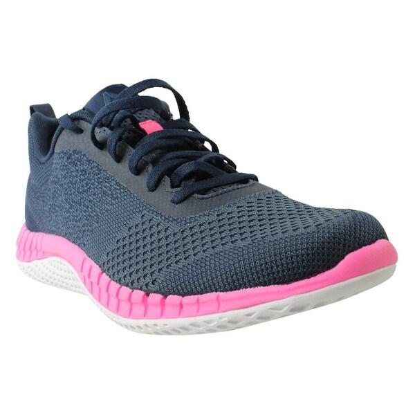 7c0b9c1c9 Shop Reebok Womens Print Run Prime Ultk Blue Running Shoes Size 10 ...