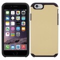 Insten Dual Layer Hybrid Rubberized Hard PC/ Silicone Case Cover for Apple iPhone 5/ 5S/ SE - Thumbnail 3