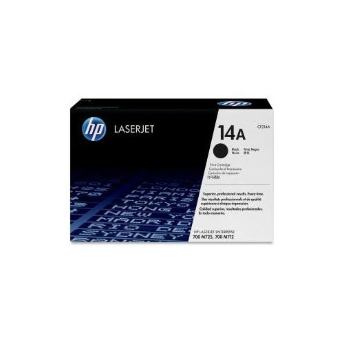 HP 14A Black High Yield Original LaserJet Toner Cartridge (CF214A)(Single Pack)