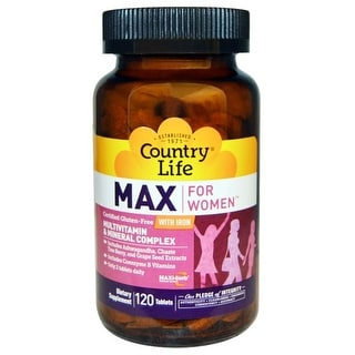 Country Life Vitamins Maxine For Women 120 Tablet