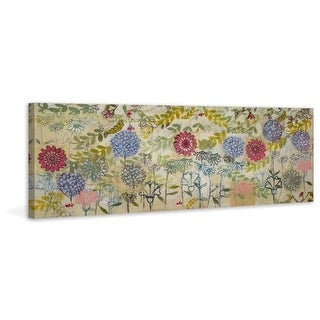 Marmont Hill Spring Garden Painting Print on Canvas