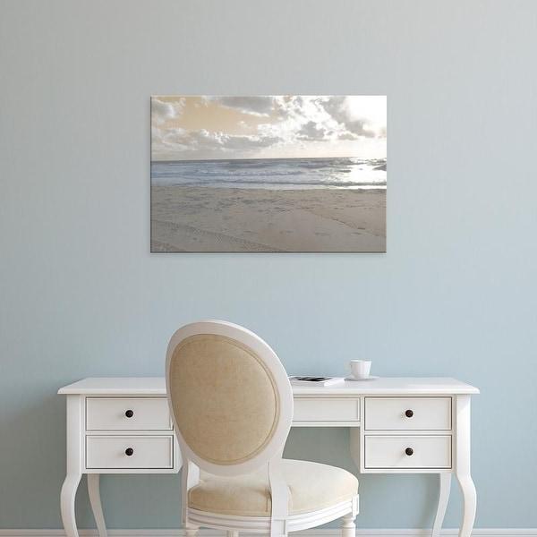 Easy Art Prints Sharon Chandler's 'Serene Sea II' Premium Canvas Art