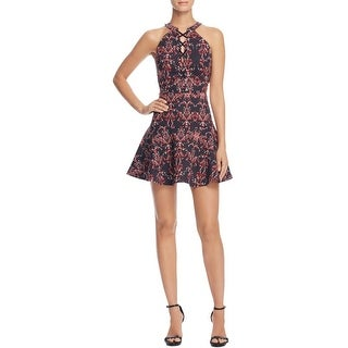 Parker Womens Casual Dress Floral Print A-Line