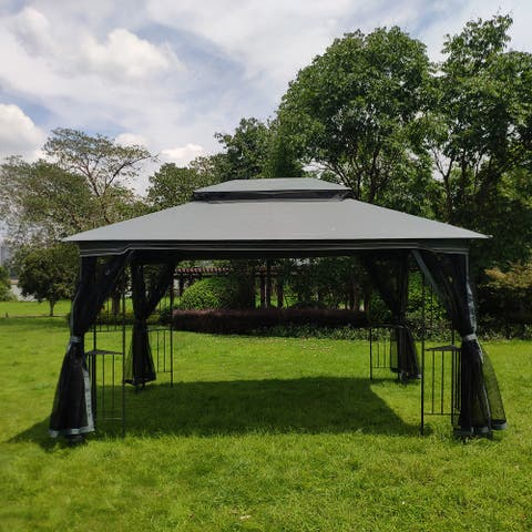 13x10 Outdoor Patio Gazebo Canopy Tent
