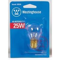 Westinghouse 03534 Incandescent Light Bulb, 25 Watts, 120 Volt