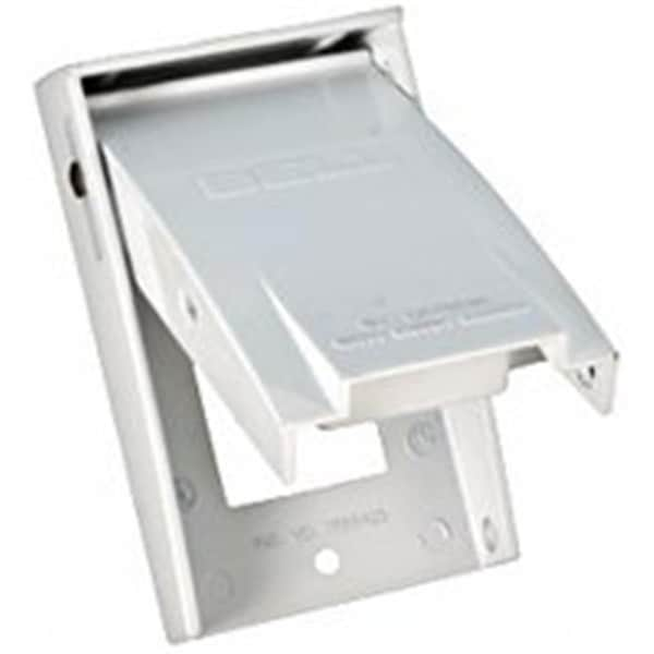 Shop Bell Weatherproof 5028 6 1 Gang Gfci Receptacle Cover White