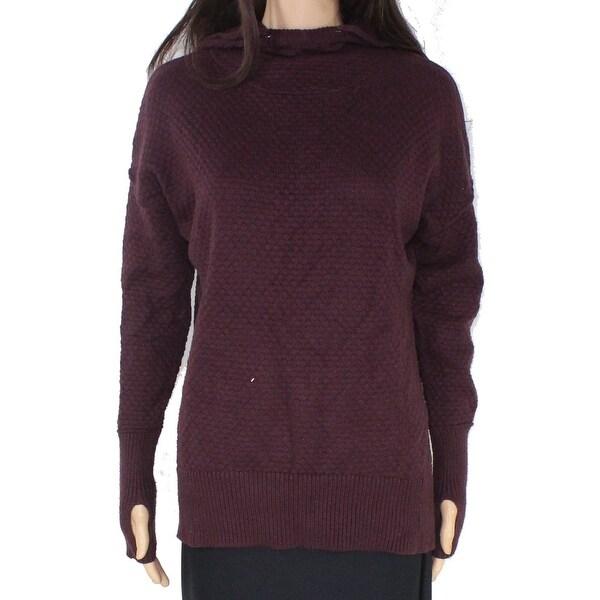 Erika Purple Knit Sweater Size S | ClosetDash #holiday #theme #patterned #sweater #fashion