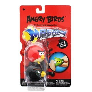 Angry Birds Mash'Ems 2-Pack: Red & Black Bird - multi