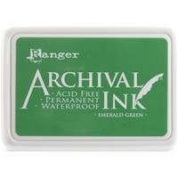 Ranger 489057 Archival Inkpad No. 0-Emerald Green