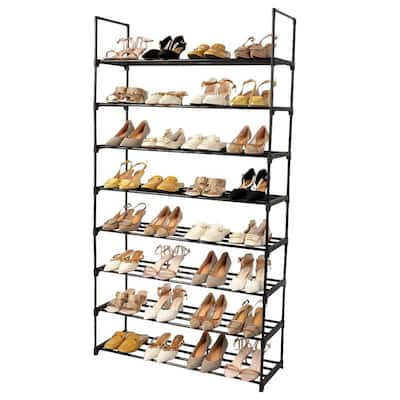 8-Tier 32 Pairs Shoe Rack, Shoe Racks Storage Organizer Closet
