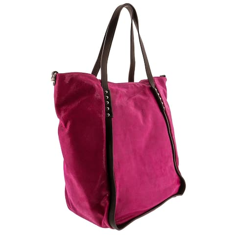 HS 5196 FU CECI Leather Shopper/Tote Bag