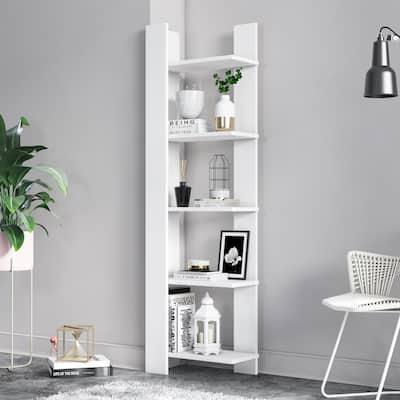 "Reeta 63"" Corner Bookcase"