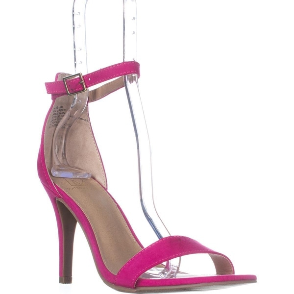 MG35 Blaire Ankle Strap Dress Sandals, Fuschia