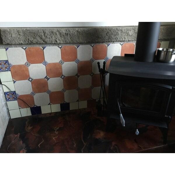 8bcaf7e63d05 Shop SomerTile 13.125x13.125-inch Huerta Jet Mix Ceramic Floor and ...